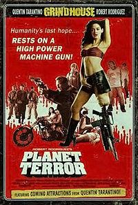 Planet Terror 2007 (Netherlands) by Robert Rodriguez