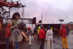 Behind the scenes at Sea Odyssey Giant Spectacular