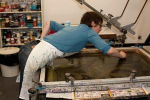 Emma Gregory printing