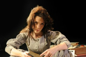 Kristin Atherton as Mary Shelley