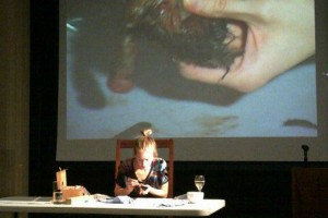 Polly Morgan, live Taxidermy at the VG&M