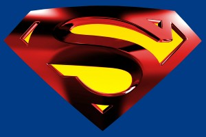 The famous Superman logo