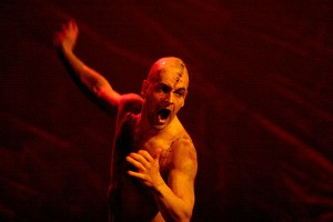 Jonny Lee Miller as the Creature