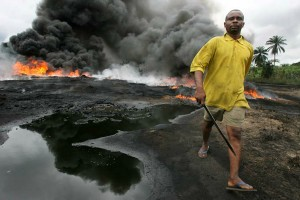 Oil boom, Delta burns: the photographs of George Osodi