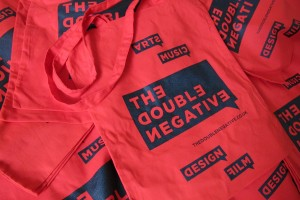 The Double Negative Fabric Bag