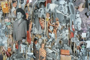 Detail from Geoffrey Farmer&#039;s installation, dOCUMENTA (13)