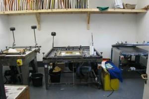 Print studios at the Bluecoat