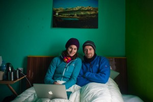 Helen and Dave in Nepal - courtesy Not Work Related