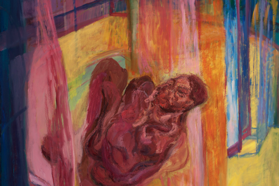 The Double Negative J Chuhan Recent Paintings