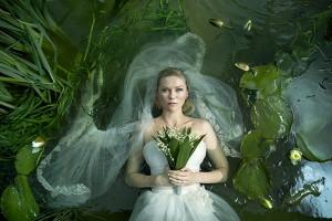 Melancholia, starring Kirsten Dunst