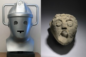 Cyberman with Gargoyle