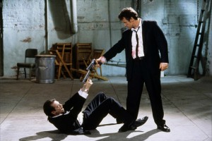 Reservoir Dogs with Keitel and Buscemi