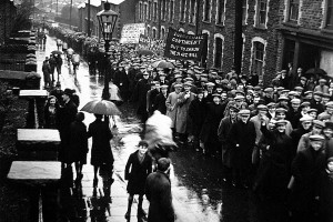 Demonstration South Wales (1935 Edith Tudor-Hart)