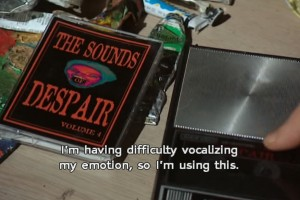 The sounds of despair Spaced
