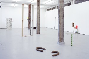 Kevin Hunt, easy does it, installation shot, David Dale Gallery 2013