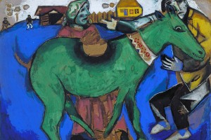 The Green Donkey by Marc Chagall © ADAGP Paris and DACS, London 2012