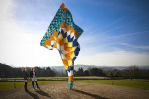 Yinka Shonibare MBE Wind Sculpture 2013