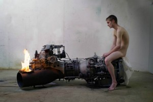 Roger Hiorns' inaugural exhibition at The Calder, The Hepworth's new contemporary art space