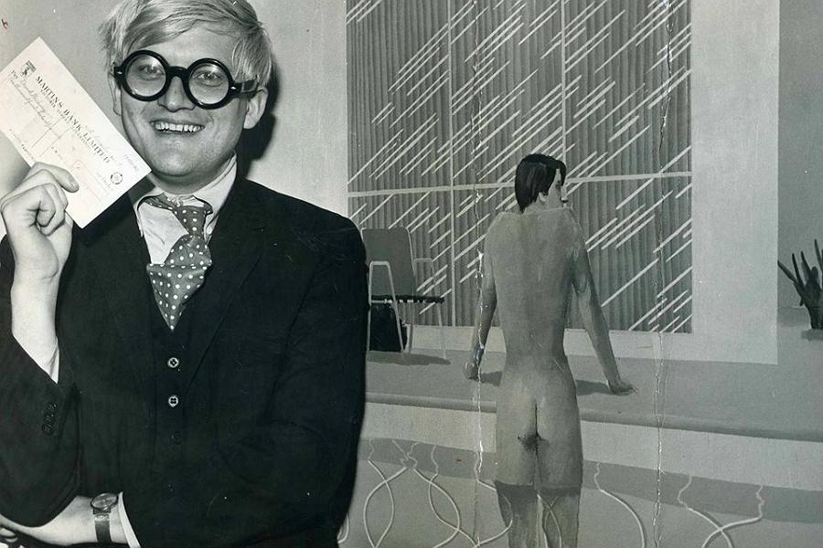 David Hockney at the Walker Art Gallery