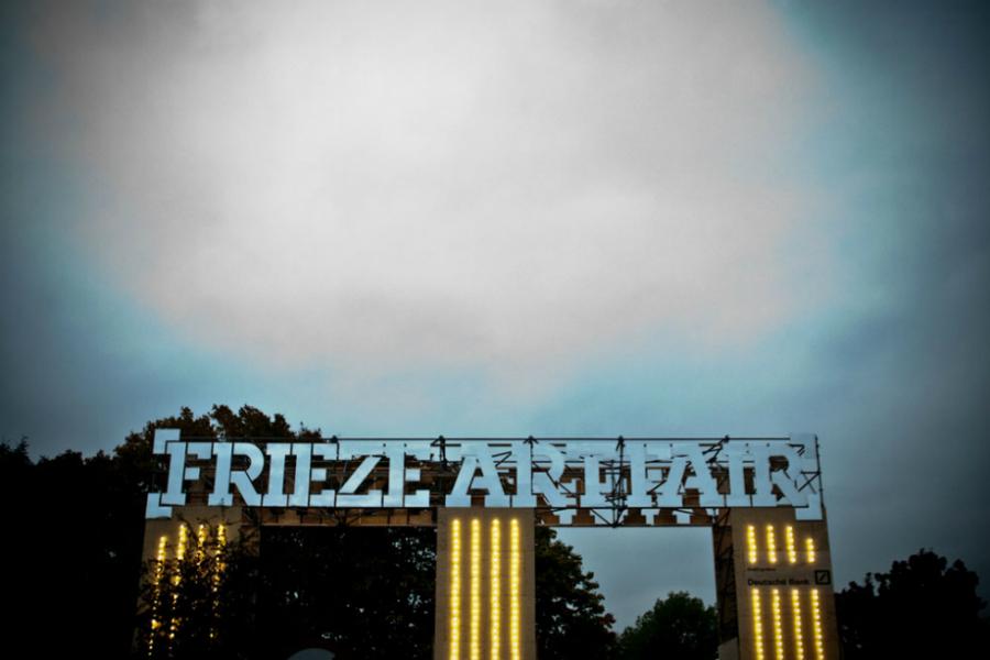 Frieze London, launching Thursday (image www.whitehotmagazine.com)