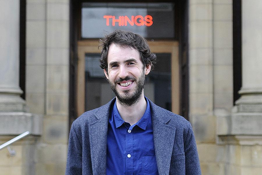 Grundy curator, Richard Parry