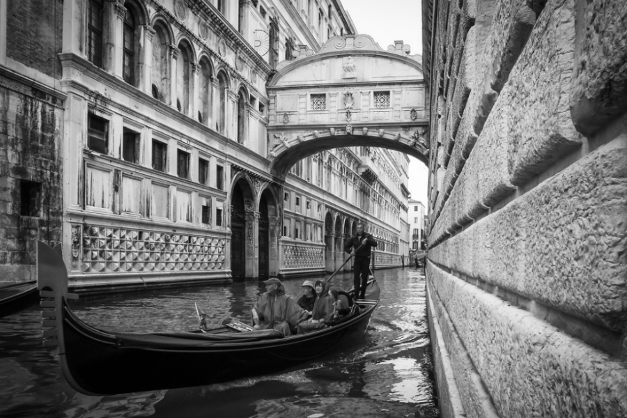 Bridge of Sighs. Photo courtesy Peter Goodbody