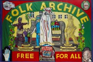 Jeremy Deller's Folk Archive Banner