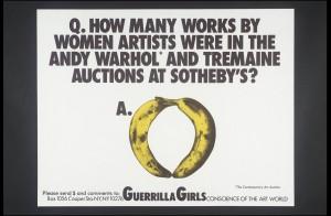 P78788 Guerrilla Girls - [no title] 1985-90