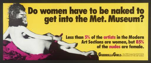 [no title] 1985-90 by Guerrilla Girls
