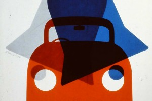 Tom Eckersley, magazine cover (detail)