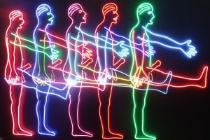 Bruce Nauman, Harris Museum this Saturday