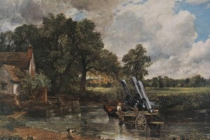 Peter Kennard, born 1949. Haywain with Cruise Missiles 1980 (image courtesy artist)