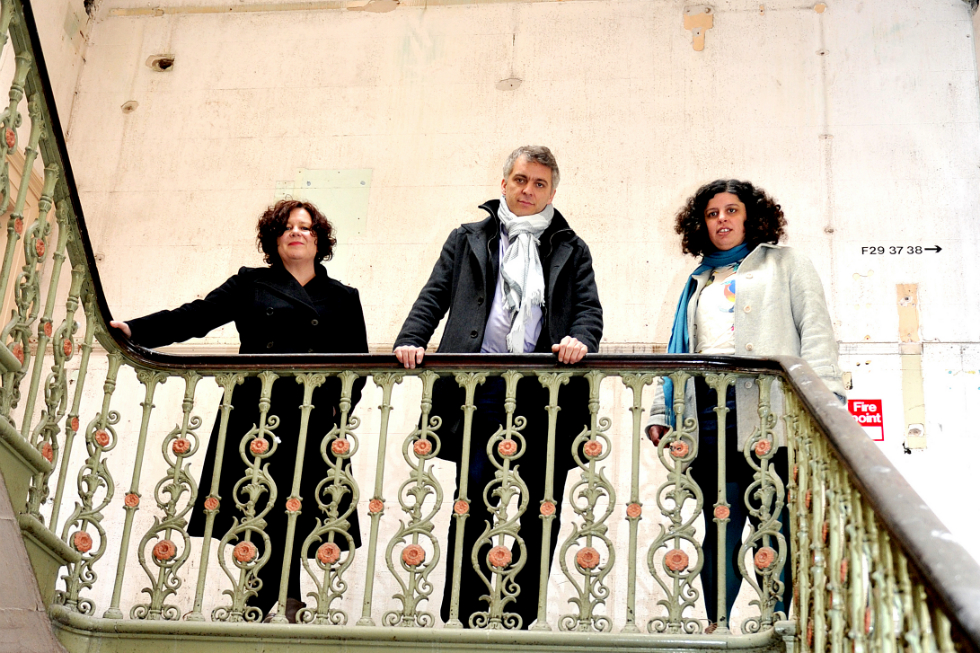 L-R: Artistic Director Sally Tallant, with international curators Anthony Huberman and Mai Abu EIDahab