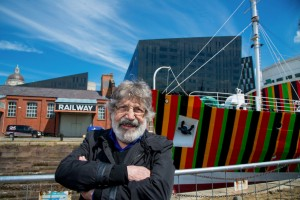 Carlos Cruz-Diez 2014 -- portrait by Mark mcNulty
