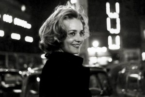Jeanne Moreau in New Wave thriller Lift to the Scaffold (1958)