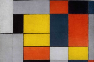 Piet Mondrian, 1872-1944 No. VI / Composition No.II 1920 Oil paint on canvas 997 x 1003 mm   Tate. © Tate Photography, 2014. © 2014 Mondrian/Holtzman Trust c/o HCR International USA