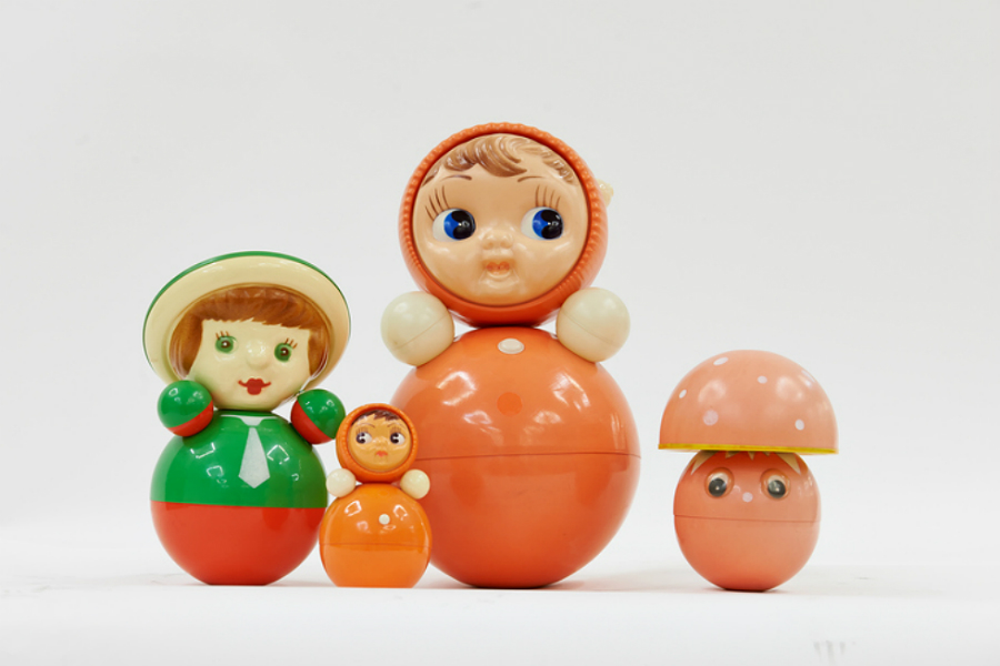 Nevalyashka Dolls (1958), Courtesy GRAD and Moscow Design Museum