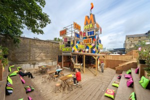 Morag Myerscough, the Movement Cafe