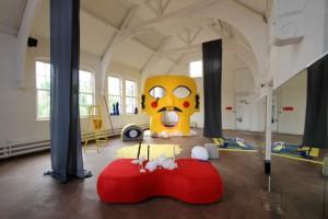 Jonathan Baldock installation (commission at Primary, Nottingham)