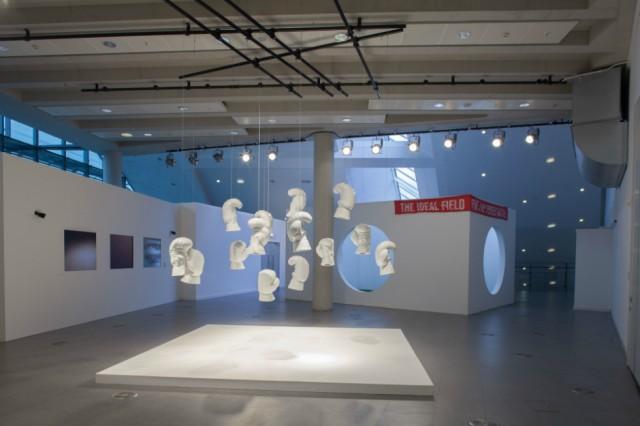 Liu Jianhua Boxing Times (2002), Harmonious Society (Asia Triennial 2014), photo courtesy Tristan Poyser