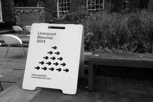 International Biennial Association Summit 2014, Liverpool. Image courtesy Pete Goodbody (@p3dro )