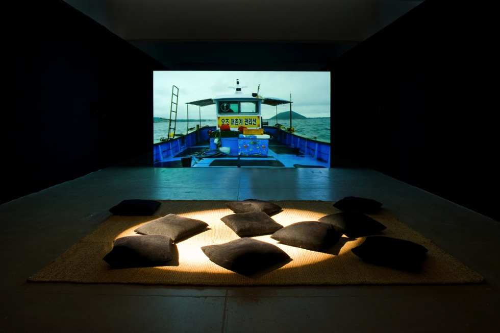 SeaWomen (2012), Mikhail Karikis, Listening, Baltic 39, courtesy the artist