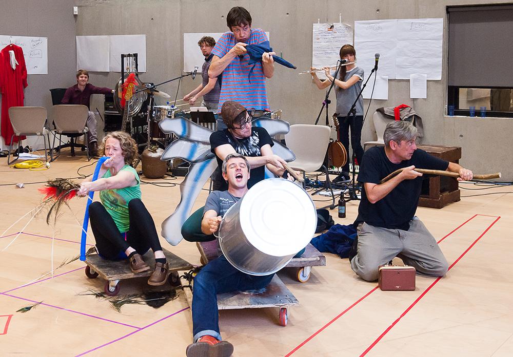 Bright Phoenix Rehearsal Photos - courtesy Brian Roberts