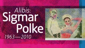 Alibis: Sigmar Polke 1963-2010 -- now until 8 February 2015 @ Tate Modern, London -- £14.50