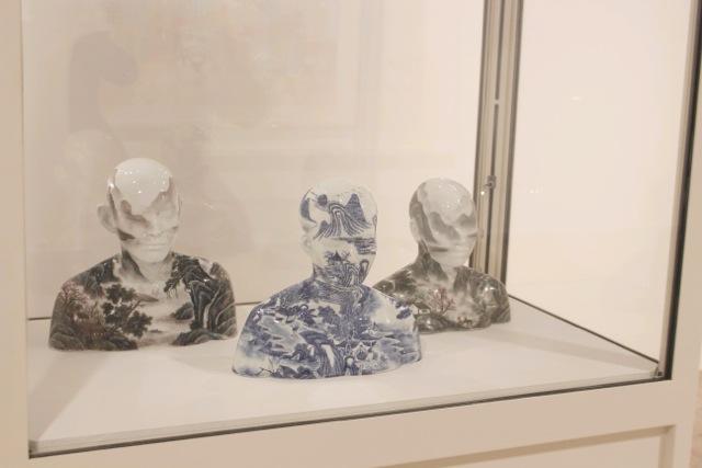 Ah Xi´an's porcelain painting -- China's Changing Landscape, Nordiska Akvarellmuseet 2014