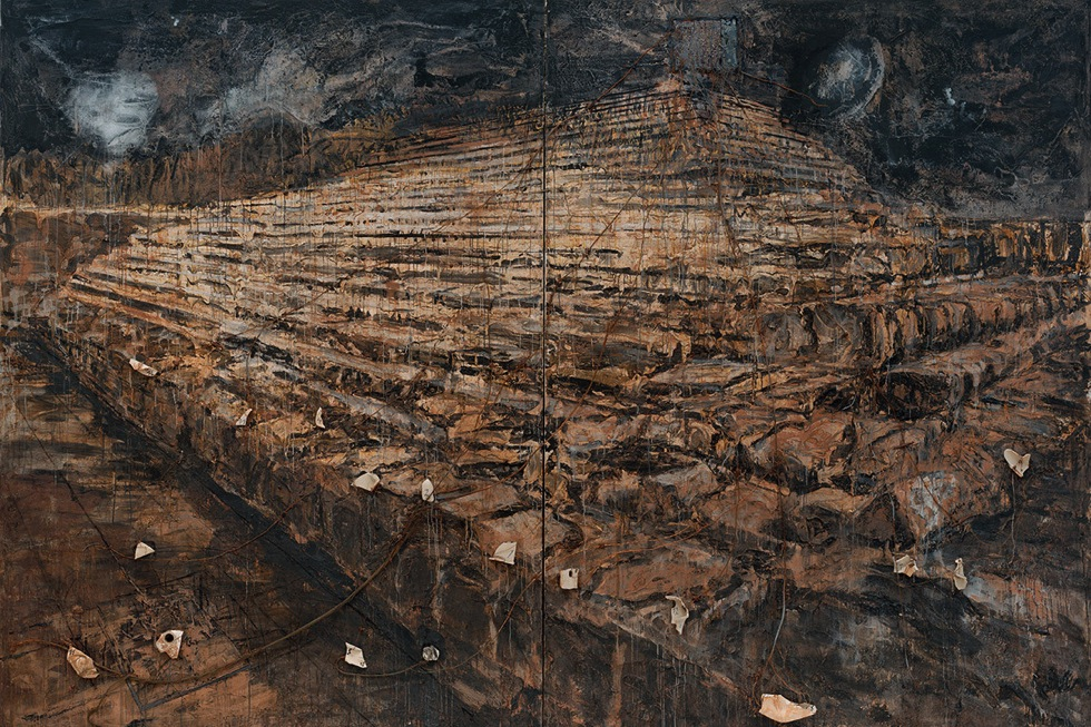 Anselm Kiefer, Osiris and Iris (1985-87)