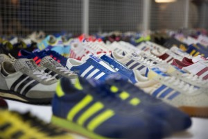adidas SPEZIAL exhibition, Manchester 2014. Image courtesy size stores.co.uk
