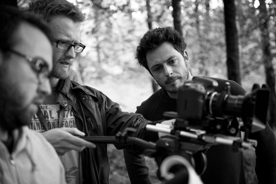 Jamie Shovlin filming Hiker Meat