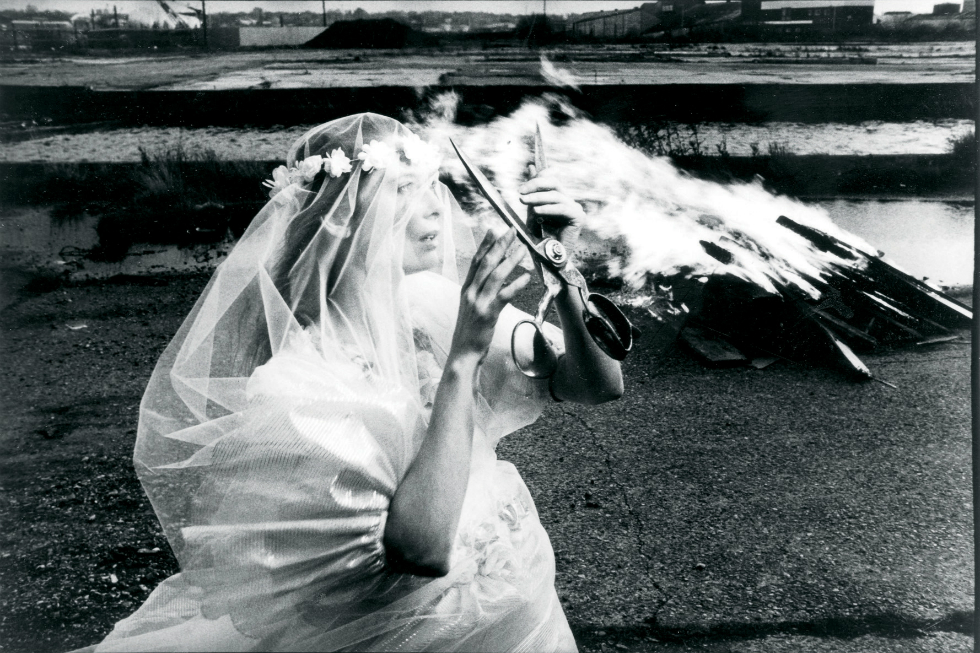 Tilda Swinton in The Last of England - Derek Jarman