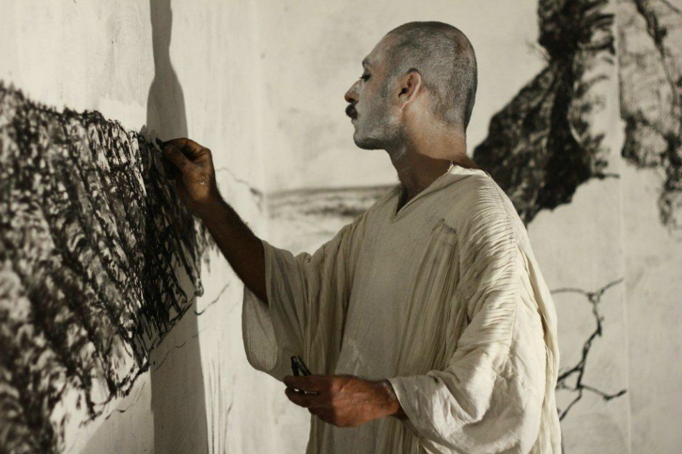 Blackening - Inhabiting the Musuem. Kiran Nadar Museum of Art